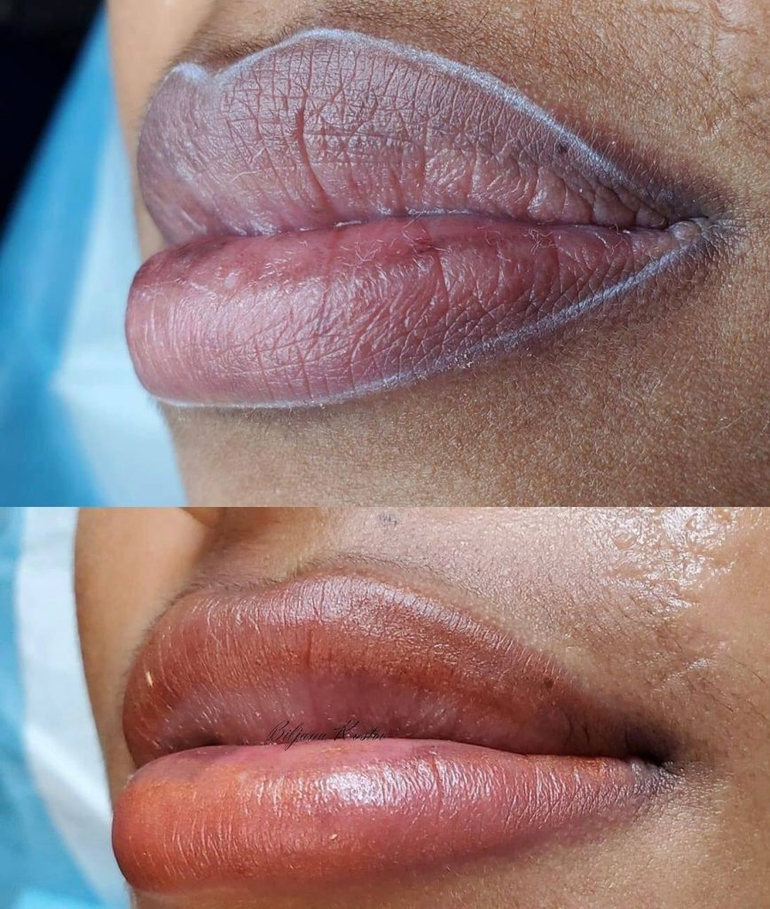 Lip Blushing Raleigh - Permanent Makeup Artist Raleigh NC